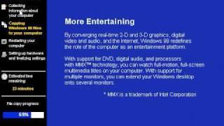 01 Windows 98 Installation.wmv