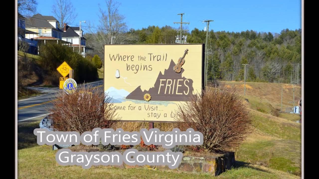 Patat/frietliefhebbers opgelet: dit is Fries, een gehuchtje in Virginia (VS)