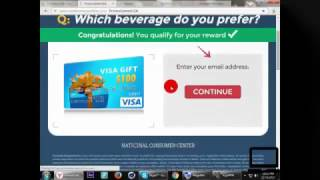 Repeat youtube video How to Complete Survey  in 3 minutes (2016)(sharecash-fileice...)