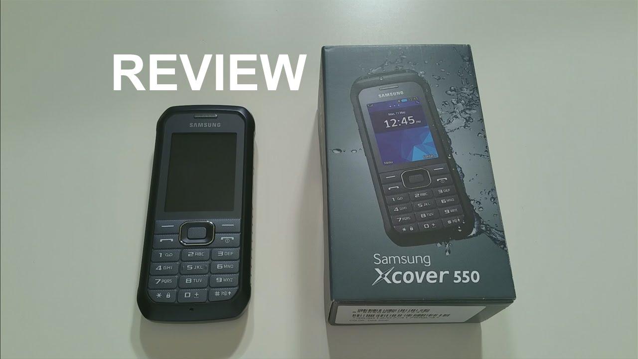 brand new b1bbc 94e48 Samsung Xcover 550 Review (english)