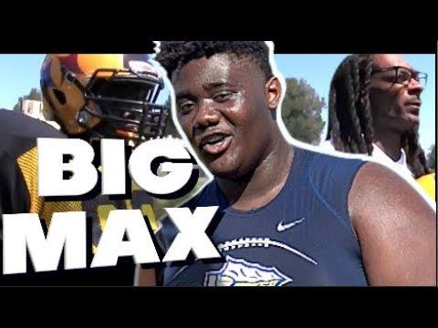 BIG MAX is BALLIN ! 9th Grader Maximus Gibbs 🔥 NetFlix Star ( St.John Bosco/Snoop Dogg Steelers)