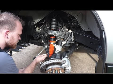How to install a lift kit to your IFS 4×4 – Isuzu MU-X Lift Kit Installation