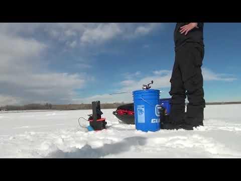 Chatfield Resorvior Ice Fishing!