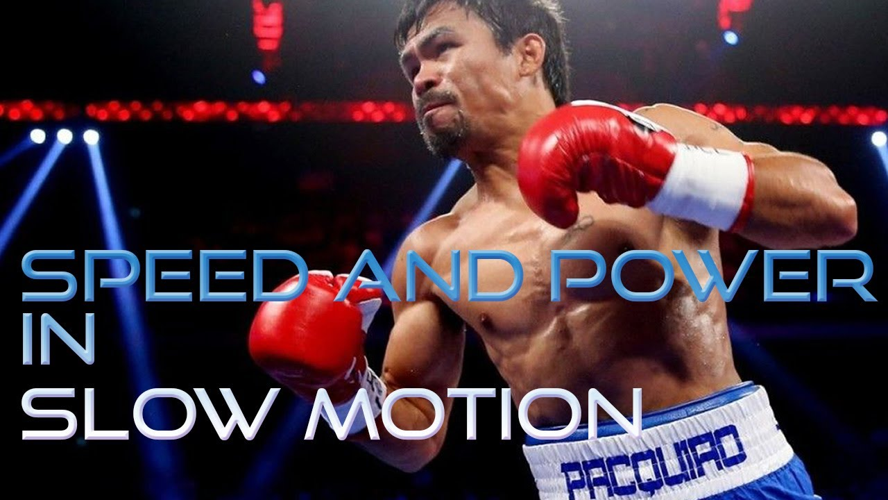 Manny Pacquiao in Slow Motion - Speed and Power Highlights