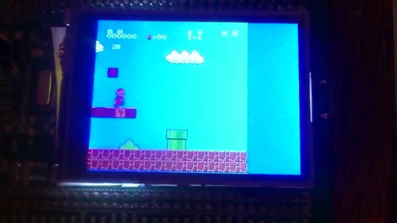 Mario on STM32F429 with LTDC by smyslovov