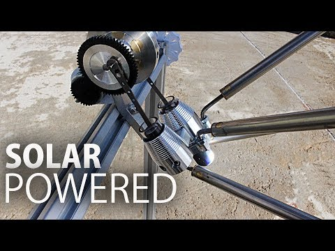 Solar Powered Stirling Engine