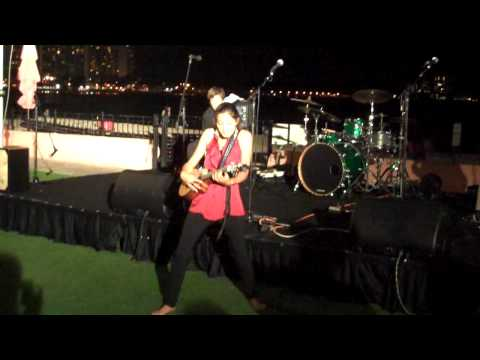 Offshore EMA - Taimane on opening night
