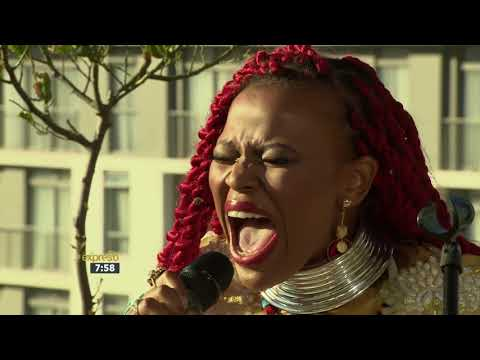 "Lady X Performs ""Nguwe (It's You)"""