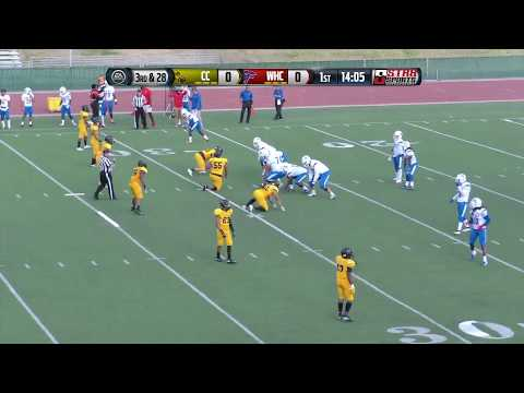 West Hills vs Chabot College Football LIVE 9/29/18