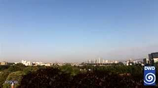 DWD Webcamfilm Offenbach West 2015 August