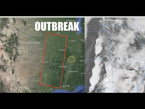 """Special Weather Statement from the Storm Prediction Center - """"Tornadoes"""" 95% chance!"""