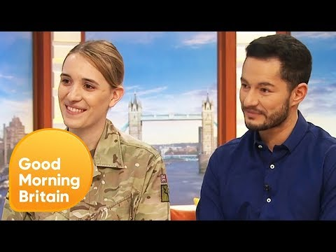 Transgender Newlyweds Hannah and Jake Discuss the Public's Reaction | Good Morning Britain