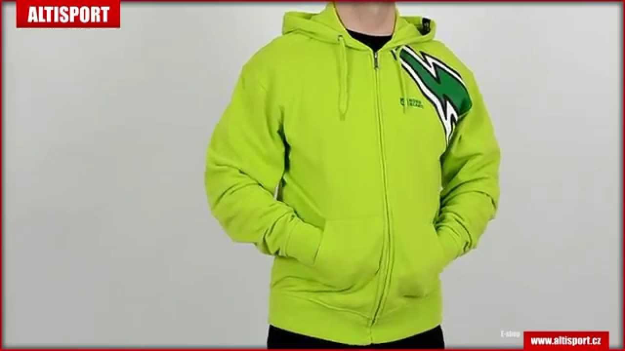 0a98f3c4f62 pánská mikina s kapucí nordblanc flash nbsms5080 jasně zelená - YouTube