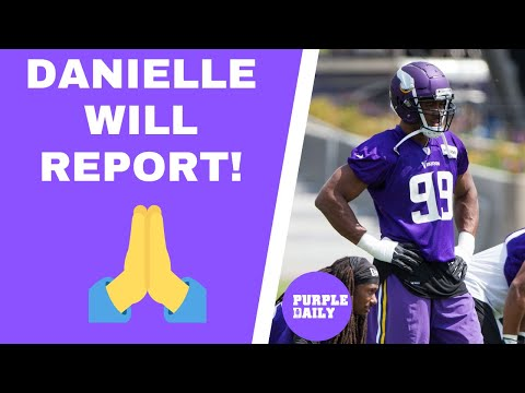 BREAKING: Danielle Hunter will reportedly show up to Minnesota Vikings minicamp