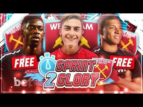 DAS ULTIMATIVE KARRIERE-TEAM FÜR 0€!!! 😍💥🏆 - FIFA 19 West Ham United Sprint to Glory