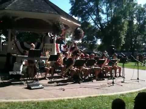 Chaska River City middle school jazz ensemble