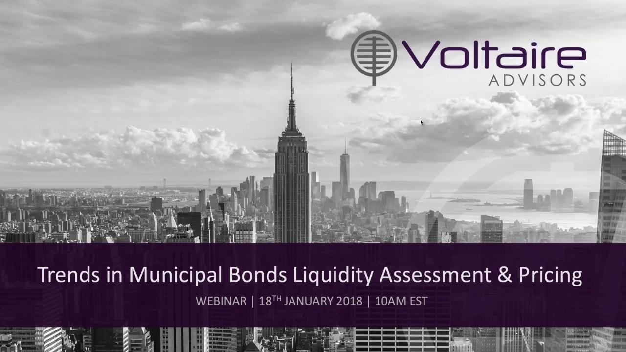 Voltaire Advisors | Webinar | Municipal Bonds Update