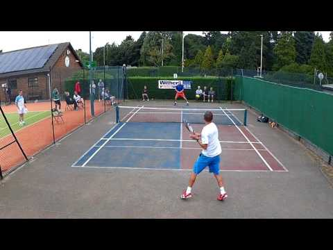 Finals of the Withers Intersport £300 touchtennis Event Leicester