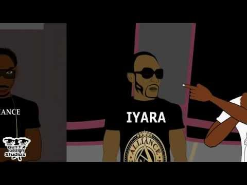 MADD!!: DEVA BRATT VS IYARA - DANCEHALL BATTLE/CLASH FT. BOUNTY KILLA  *ANIMATED* 2012