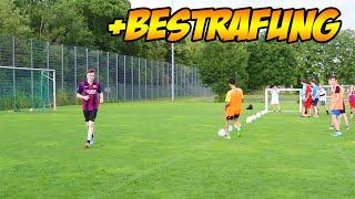 BESTE FUßBALL CHALLENGE + RIESEN-BESTRAFUNG   feat. MarcelScorpion & Massi
