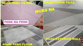 TILES PANG WALL AT PANG FLOORING MURA NA
