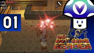 [Vinesauce] Vinny - 3D Dot Game Heroes (part 1)