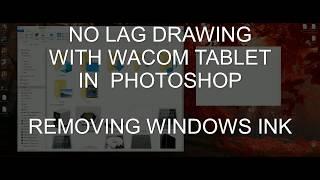 No Lag Wacom Tablet Fix - Windows 10 Photoshop