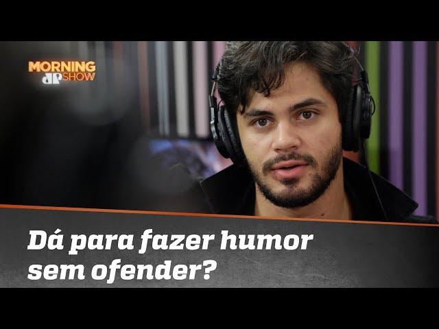 """Lucas Veloso: """"Bom que você usou o termo ditadura para falar do politicamente correto"""""""