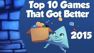 Top 10 Games that Kept Getting Better!