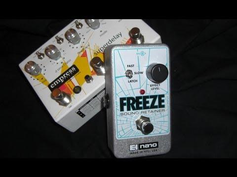 Electro Harmonix - Freeze & Empress Super Delay