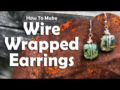 How To Make Wire Wrapped Earrings