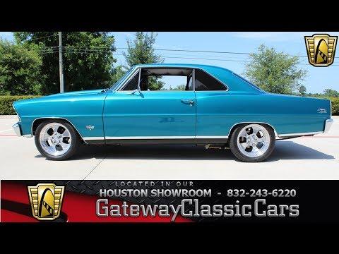 1967 Chevrolet Nova SS Gateway Classic Cars #1284 Houston Showroom