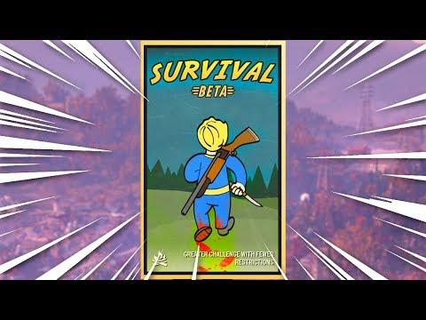 FALLOUT 76 SURVIVAL MODE IS INSANE thumbnail