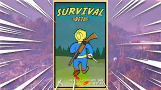 FALLOUT 76 SURVIVAL MODE IS INSANE