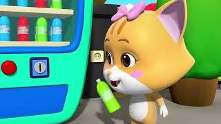 Çılgın Hayvanlar 🐶 Otomat Makinesi   4. Bölüm   Cumburlop TV   Çizgi Film   Çocuk Filmleri