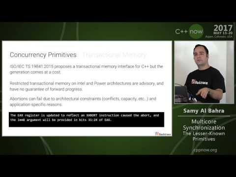 "C++Now 2017: Samy Bahra ""Multicore Synchronization: The Lesser-Known Primitives"""
