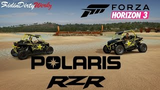 Two 300+HP Turbo Rockstar Polaris RZR UTV & A Drone In Australia | Forza Horizon 3