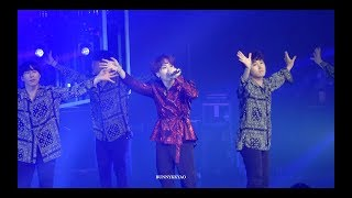 180909 LOVE YOURSELF WORLD TOUR IN LA SEESAW SUGA FOCUS FANCAM/슈가...