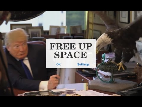 Free Up Space - Gary Johnson 2016 Ad (Unofficial)