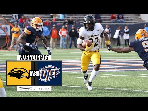 Southern Mississippi vs. UTEP Football Highlights (2018) | Stadium