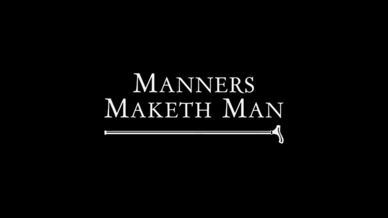 manners makes a man The proverb 'manners maketh man' means that politeness and good manners are essential to humanity this proverb is thus often used as a way to remind people to be polite.