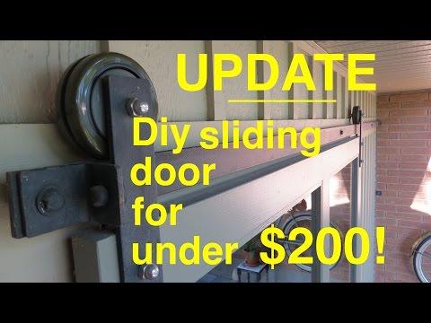 How to make ● a Sliding Barn Door ● UPDATE
