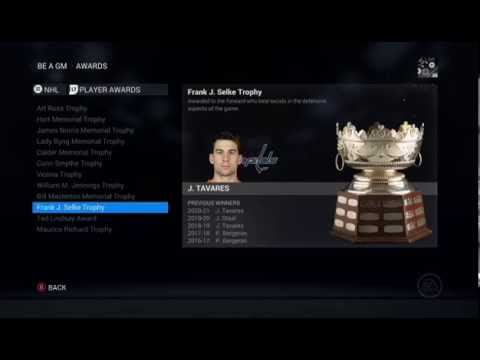 NHL 16 Fantasy GM: Washington Capitals S9 Episode 49 // Year 8 Start – Goalie Trade (XBone)
