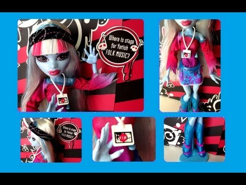 Monster High Music Festival Abbey Bominable
