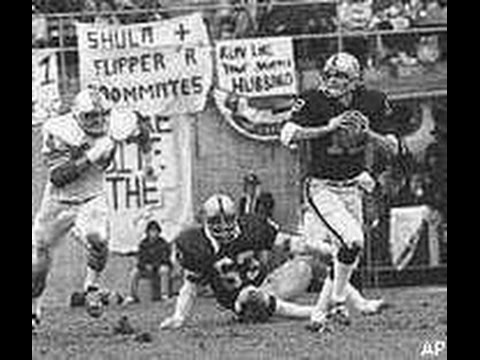 Oakland Raider Ken Stabler highlites 1972-76