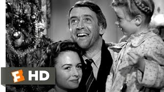 Every Time a Bell Rings an Angel Gets His Wings - It's a Wonderful Life (9/9) Movie CLIP (1946) HD