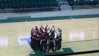 Saginaw Valley Pom - Mid American Pom Collegiate State Champsionship 2013