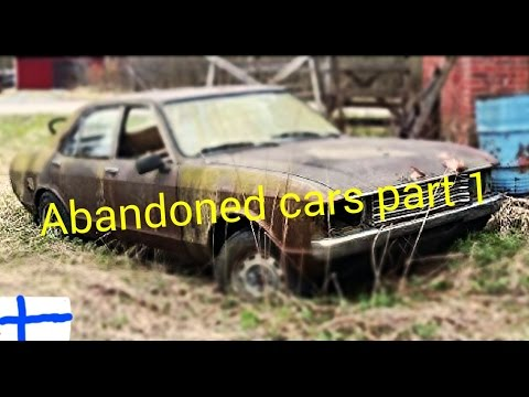 Abandoned cars in Finland part 1