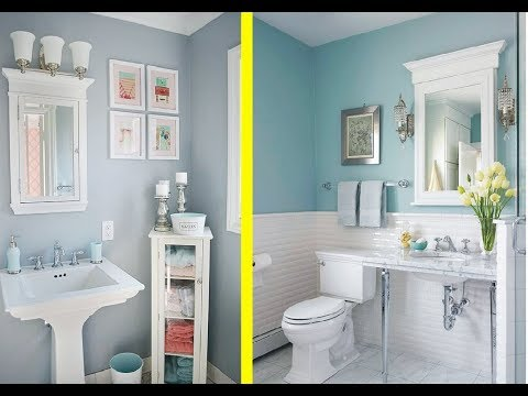 62 Best decorating a small powder room in 2018 - trend book 2018  - tropical room decorating ideas