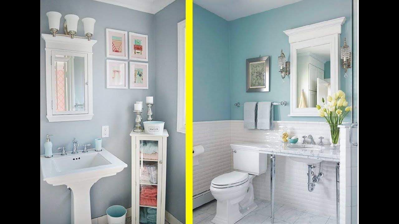 62 best decorating a small powder room in 2018 trend - Small powder room decorating ideas ...